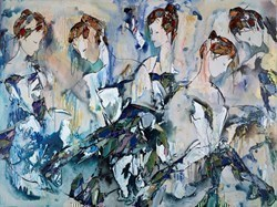 Enlightenment II by Maya Eventov -  sized 48x36 inches. Available from Whitewall Galleries